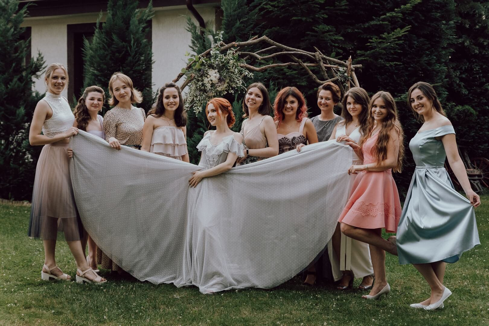 Zdjęcia grupowe na weselu. fotograf Szpakowicz Aleksander Gdańsk, Trójmiasto - szpakowicz-studio.pl