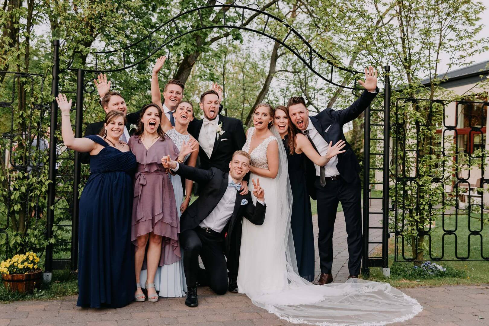 Zdjęcia grupowe na weselu. fotograf Szpakowicz Aleksander Gdańsk, Trójmiasto - szpakowicz-studio.pl 15