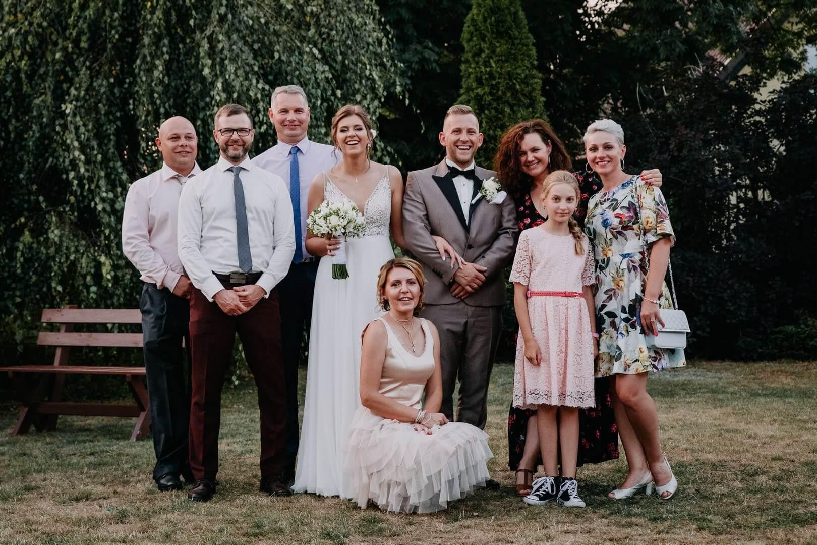 Zdjęcia grupowe na weselu. fotograf Szpakowicz Aleksander Gdańsk, Trójmiasto - szpakowicz-studio.pl 16
